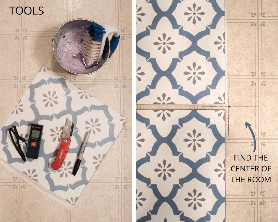 FloorPops Peel & Stick Vinyl Floor Tiles Review & Tips